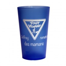Customized cups 25/33cl silkscreen printing (on request)
